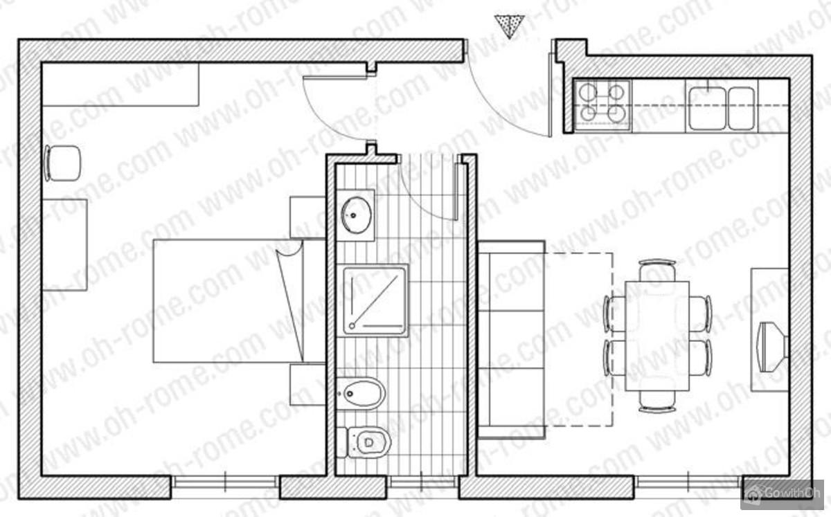 apartment in rom in der n he des san pietro sehr zentral gelegen. Black Bedroom Furniture Sets. Home Design Ideas