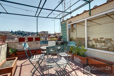 Apartment With Terrace A Short Stroll From Centre Florence