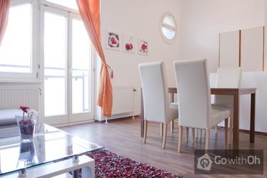 ansprechendes apartment beim schloss sch nbrunn. Black Bedroom Furniture Sets. Home Design Ideas