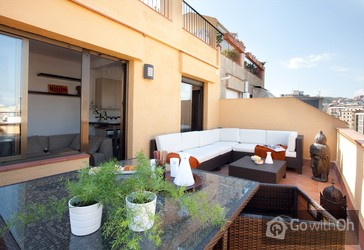 Holiday Apartments Barcelona Magnificent Attic With Views