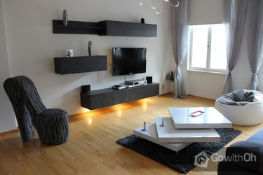 berlin modern holiday apartment in the city center. Black Bedroom Furniture Sets. Home Design Ideas