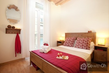 Gezellig twee slaapkamer appartement centraal gelegen in Barcelona