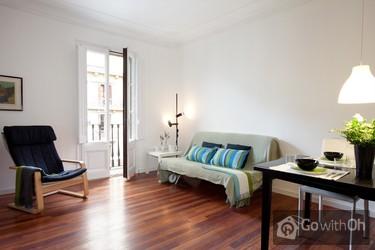 Centraal Gelegen Appartement In De Eixample,.