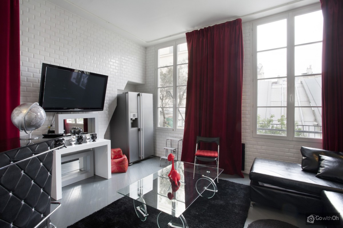 Paris vacation rentals: Flat with terrace at the Pompidou