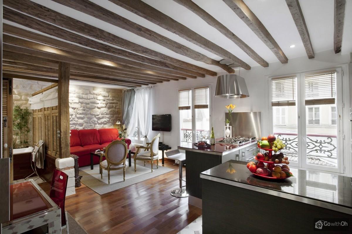 Paris vacation rentals: Apartment at the Canal Saint Martin