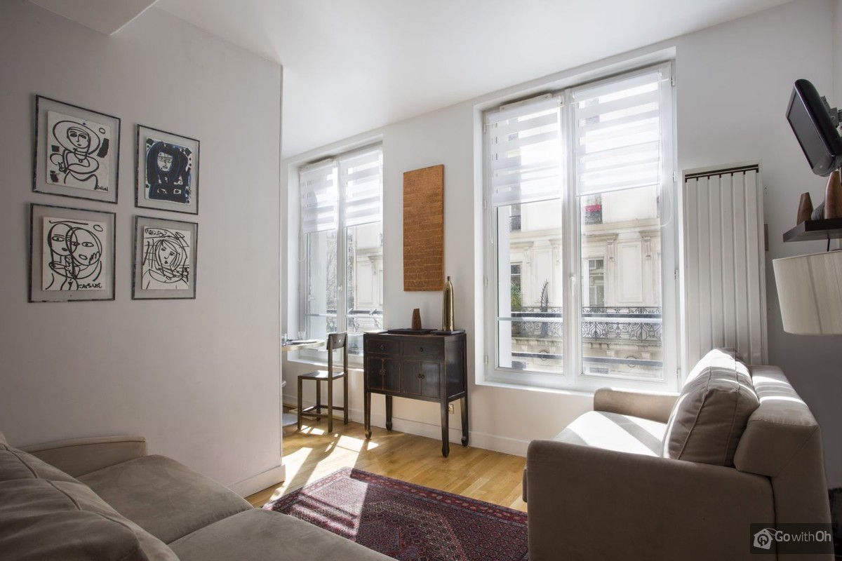 Paris vacation rentals: Apartment just 100 ms from Châtelet