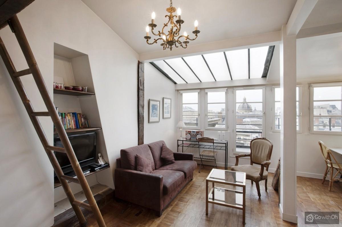 Paris Vacation Rentals Apartment With Views Over Paris