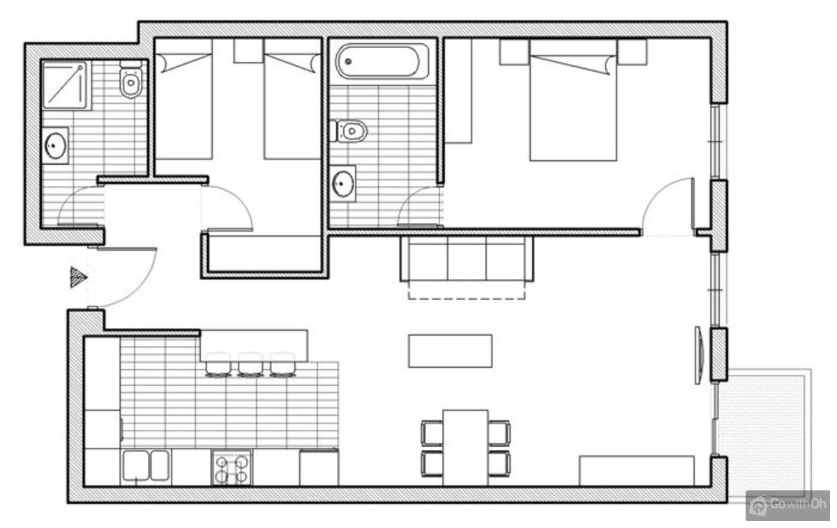 Moderno e appartamento nelle vicinanze della sagrada familia for Design moderno della residenza