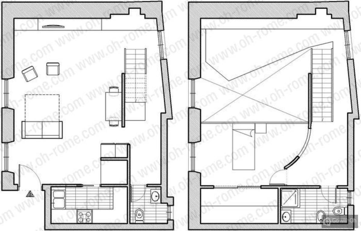 Coliseum Loft Building Floor Plan