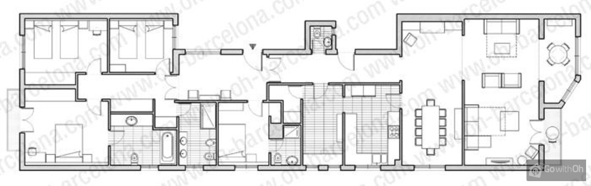 business plan location appartement barcelone